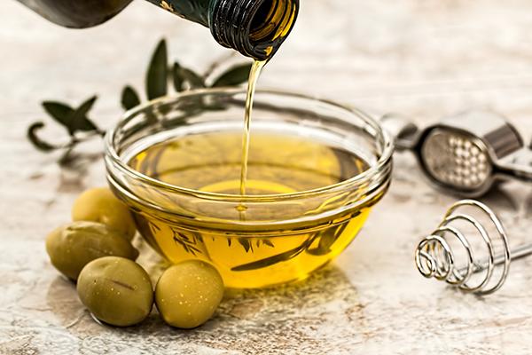 cuenco aceite seguridad alimentaria