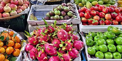 frutas seguridad alimentaria