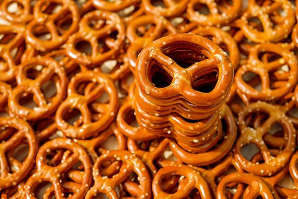 pretzel analisis alimentos