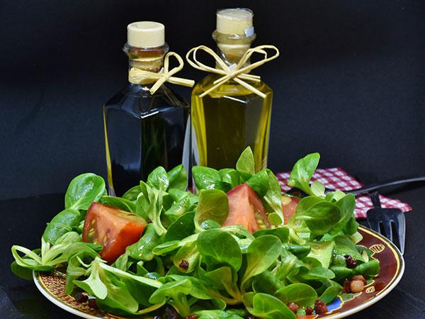 ensalada vinagre analisis alimentos